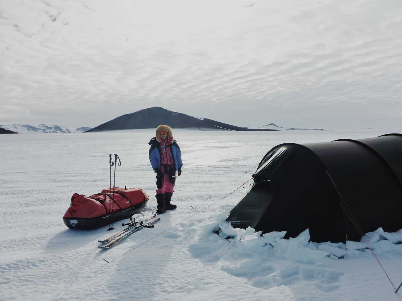 Melbourne's teen explorer completes the Polar Hat Trick