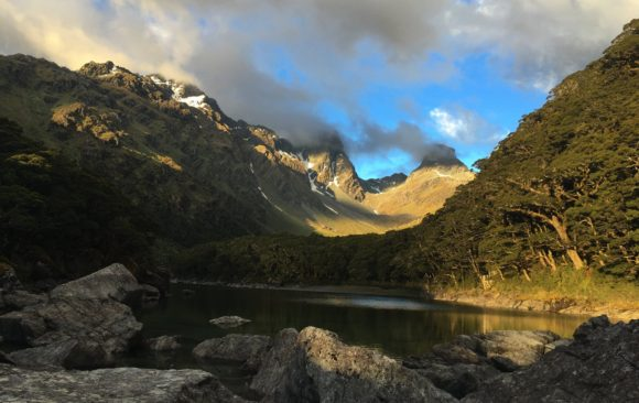 The ever-changing landscape of New Zealand's Routeburn Track