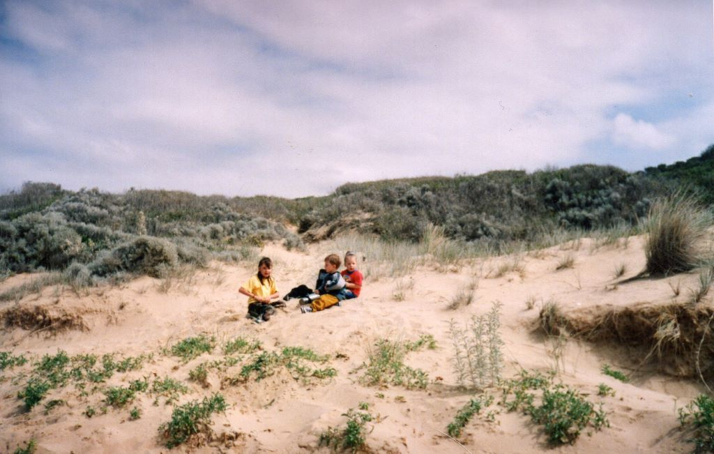 Sinking into the sand – growing up wild in Gippsland