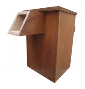 Nest box for an Eastern Barn Owl or Boobook Owl