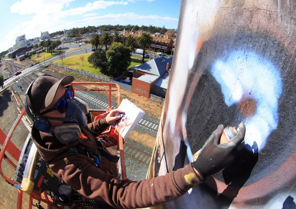 Street art doesn't have to D-V-Ate from conservation