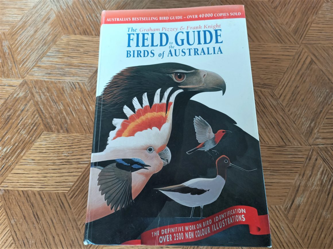 cover of field guide to the birds of Australia
